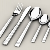 Crockery and cutlery. 2